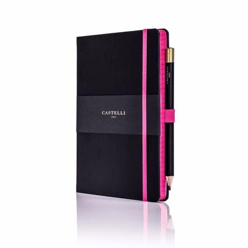 Castelli - Tucson Edge A5 Notebook Pink