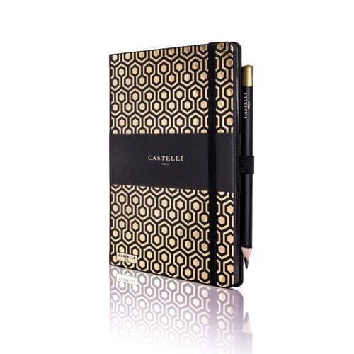 Castelli - Honeycomb Gold Notebook