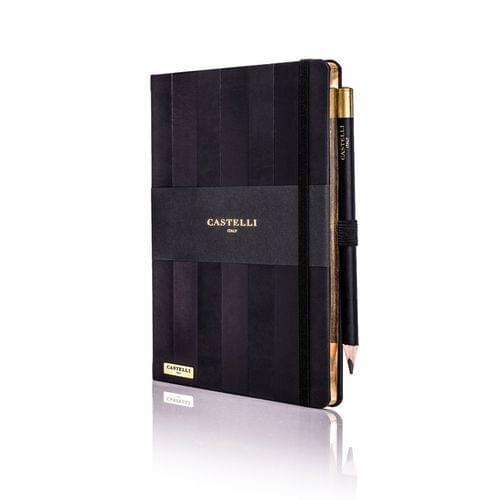 Castelli - Stripe Black Notebook