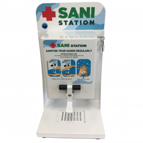 Wall Mounted or Desk/Counter Top Sanitiser Station 2L