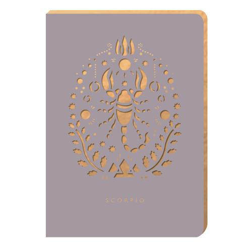 Scorpio Notebook - Zodiac Collection