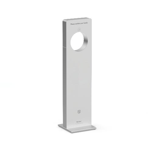 Sterizen X4 Stainless Steel Auto Hand Sanitizer Gel Dispenser Station - Mono