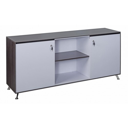 Nero Executive 1800mm Wide Credenza Sideboard Cupboard Unit