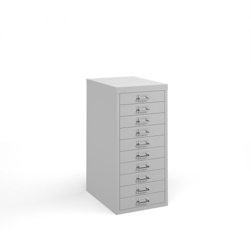 Bisley 10 Drawer Steel Multi Cabinets