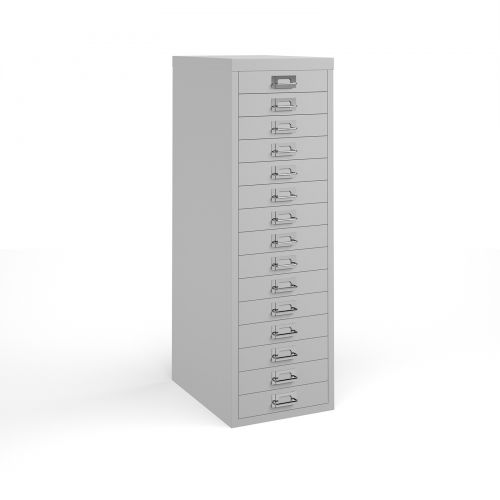 Bisley 15 Drawer Steel Multi Cabinets