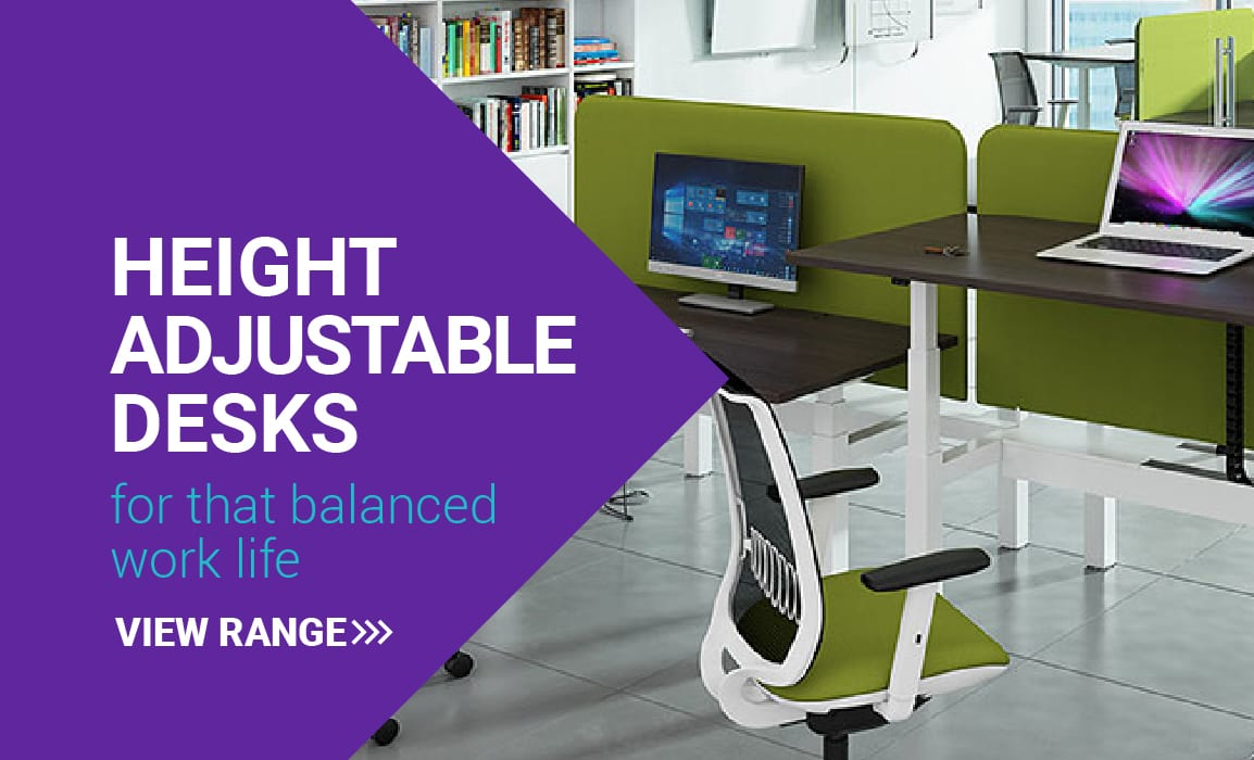 Height adjustable desks for that balanced work life