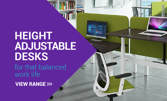Height adjustable desks for that balanced work life