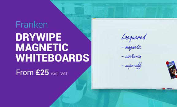 Franken Drywipe Magnetic Whiteboards