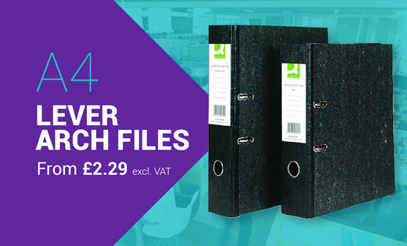 A4 Lever Arch Files