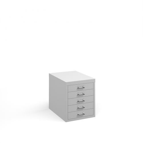 Bisley 5 Drawer Steel Multi Cabinets