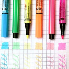 How to revive dried out pens, sharpies and highlighters