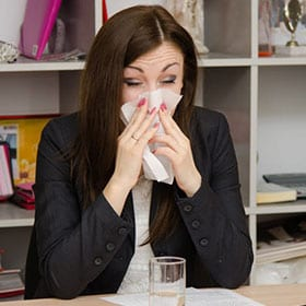 Winter survival tips for the office
