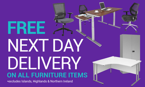 Free Next Day Delivery on all furniture items