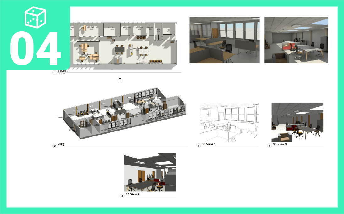 Space Planning step 4