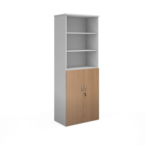 Tall Bookcases with Storage Cupboard