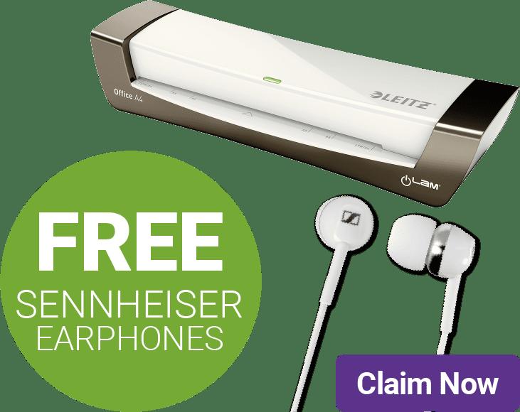 FREE SENNHEISER EARPHONES