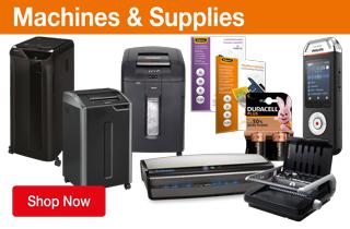 Machines & Supplies