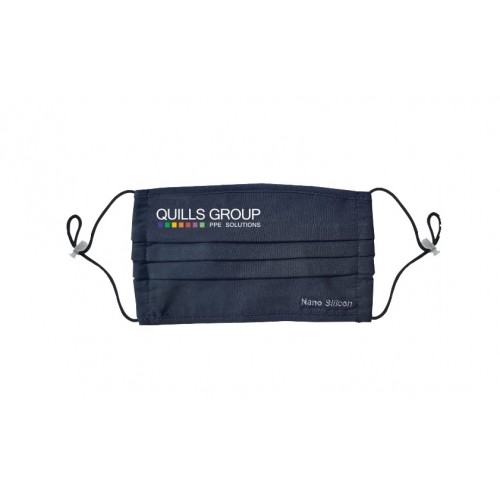 Branded Nano-Silicon Eco Self-Cleaning Antibacterial Face Mask Black (Re-Useable)  Min. Qty: 200