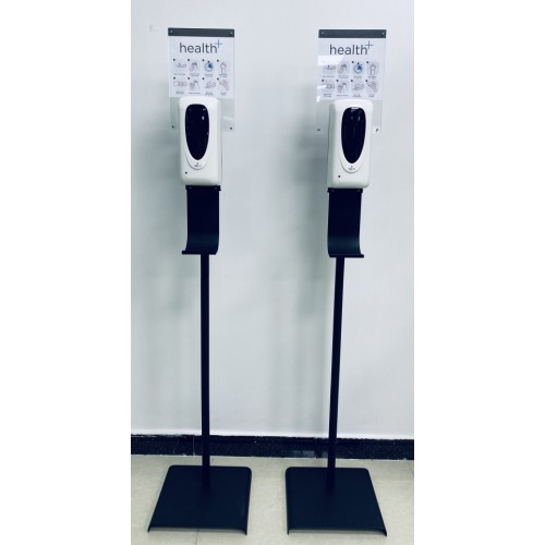 Automatic Touch Free Dispenser With Floor Stand & Notice Board