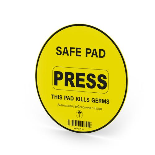 The Safe Button (Circular)