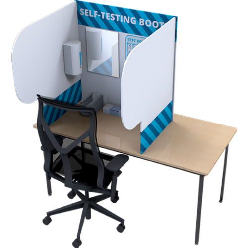 Desktop Self-Testing Booth