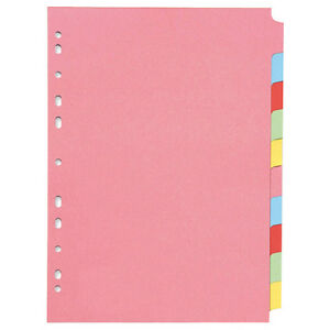 Plain File Dividers