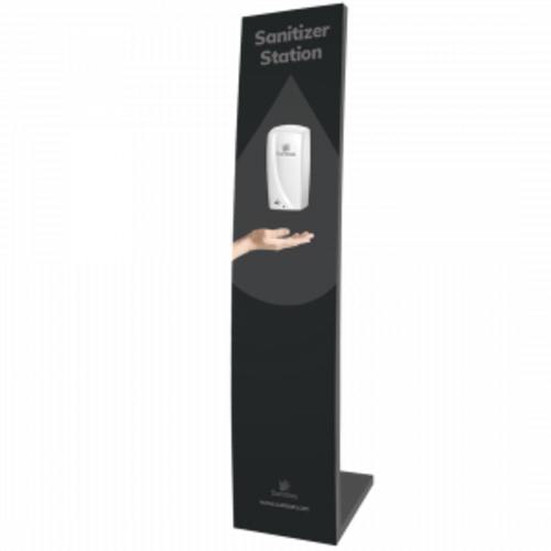 SureSan XP Hygiene Retail Display Stand with Touchless Gel Dispenser