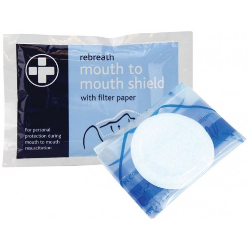 Resuscitation Face Shields With Filter