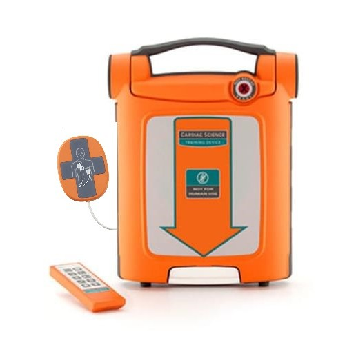 Cardiac Science Powerheart® G5 AED Defibrillator Trainer with Pads with Intellisense™ CPR Device