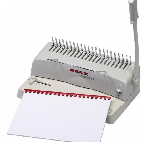 Renz Private Bind Comb Binding Machine