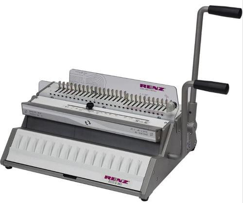 Renz Eco S360 Wire Comb Binder Machine