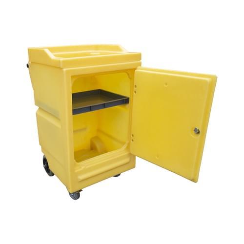 Work Cart With Lockable Door 45 Litre Bund