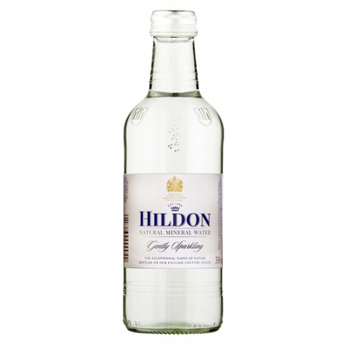 Hildon Gently Sparkling English Natural Mineral Water 330ml (Case of 24)
