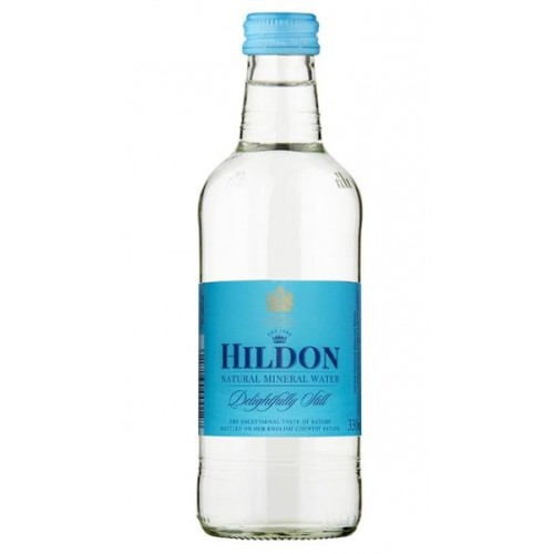 Hildon Delightfully Still English Natural Mineral Water 330ml (Case of 24)