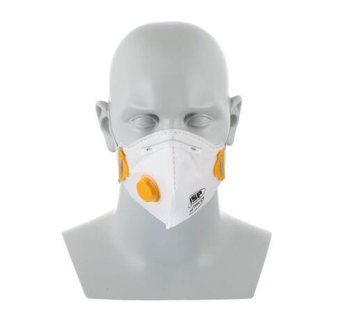 JSP Disposable Fold Flat Mask FFP1V 212 Valved (Pack of 10)