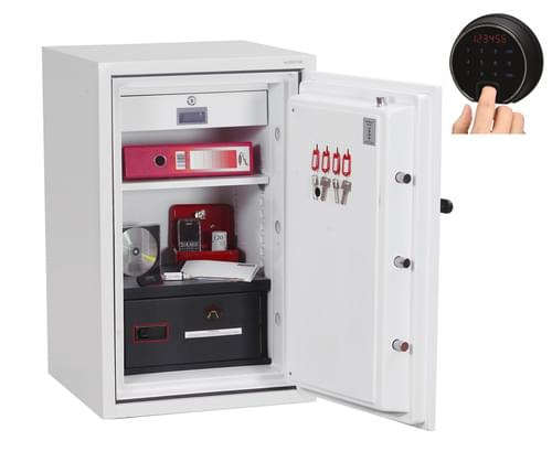Phoenix Datacombi DS2502F Size 2 Data Safe with Fingerprint Lock