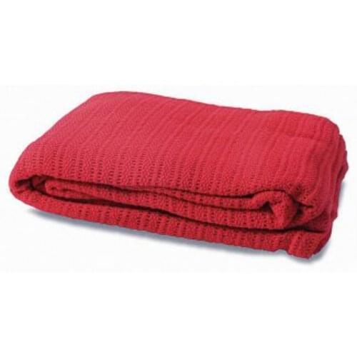Red Cotton Blanket