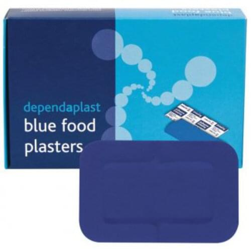 Detectable Patch Plasters Blue (Pack of 50)