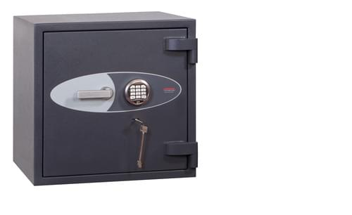 Phoenix Planet HS6071E Size 1 High Security Euro Grade 4 Safe with Electronic & Key Lock