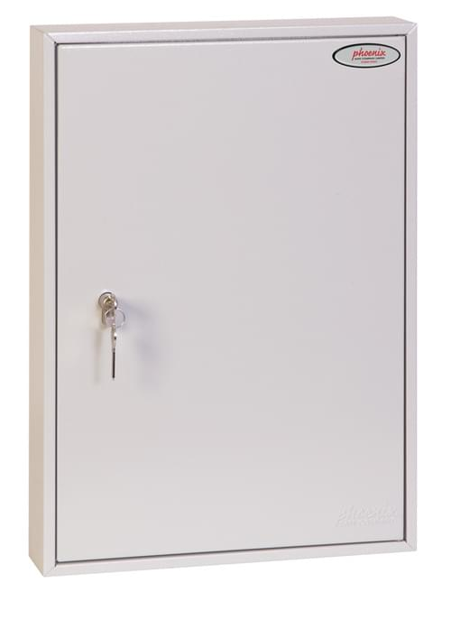 Phoenix Commercial Key Cabinet KC0603P 100 Hook with Euro Cylinder Lock Case