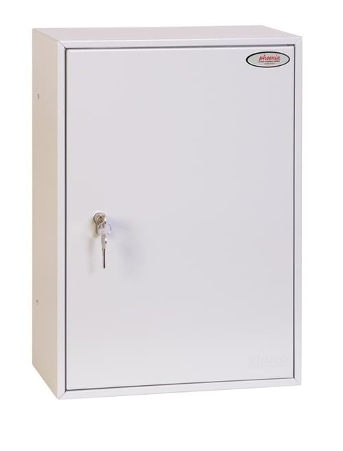 Phoenix Commercial Key Cabinet KC0605P 300 Hook with Euro Cylinder Lock Case