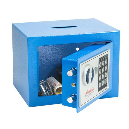 Phoenix Compact Electronic Deposit Blue Safe [SS0721EBD]