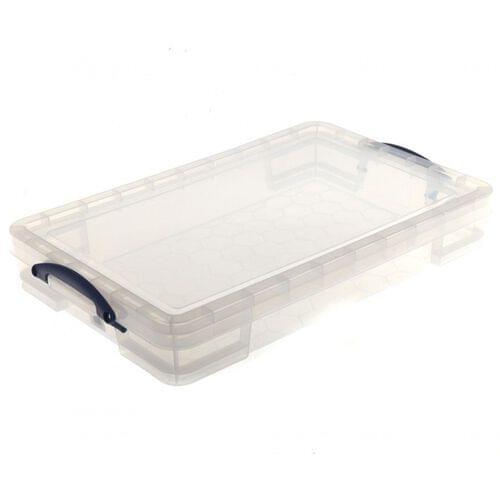 Really Useful Clear Plastic Storage Box 20L