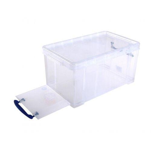 Really Useful Clear Plastic Storage Box 8 L