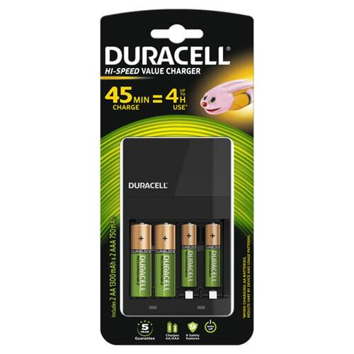 Duracell CEF14 4 Hour Charger