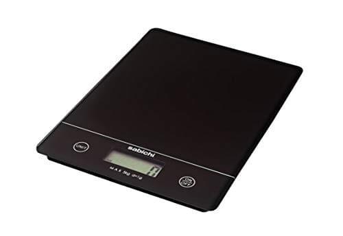 Sabichi Electronic Black Kitchen Scale