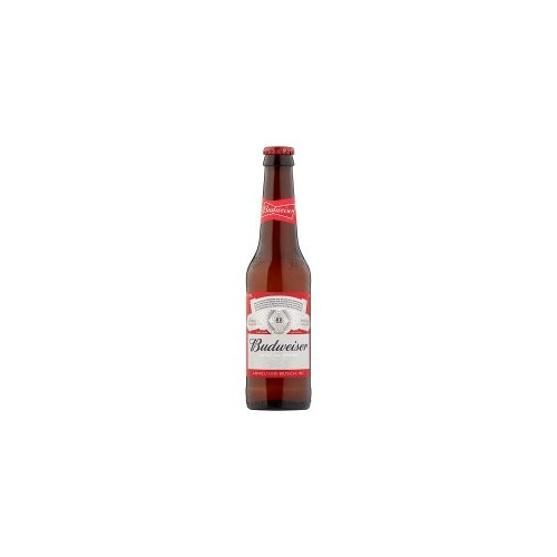 Budweiser Beer Non Returnable Bottles 330ml (Case of 24)