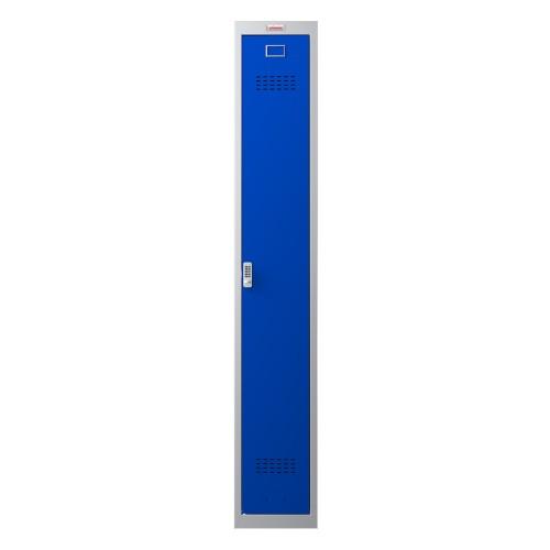 Phoenix CD Series CD1130/4GBE 1 Column 1 Door Clean & Dirty Locker in Blue with Electronic Lock