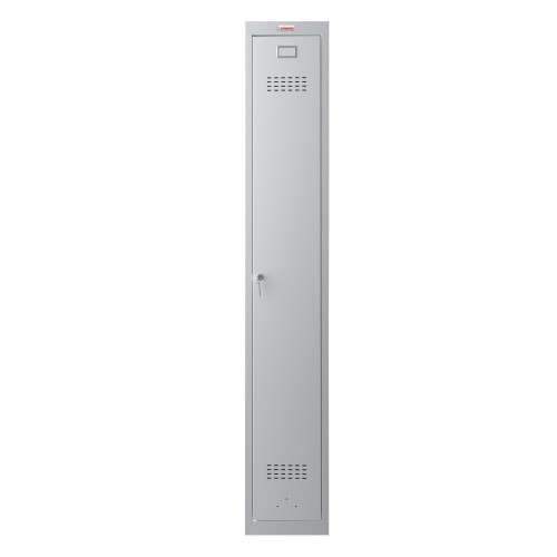 Phoenix CD Series CD1130/4GGK 1 Column 1 Door Clean & Dirty Locker in Grey with Key Lock