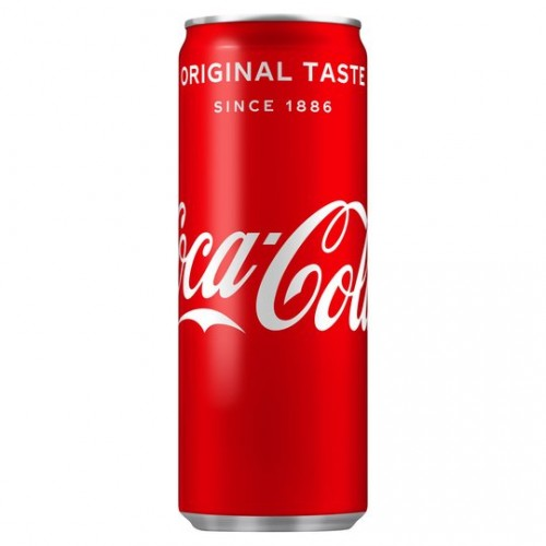 Coca-Cola Soft Drink 250ml Can [Pack of 24]